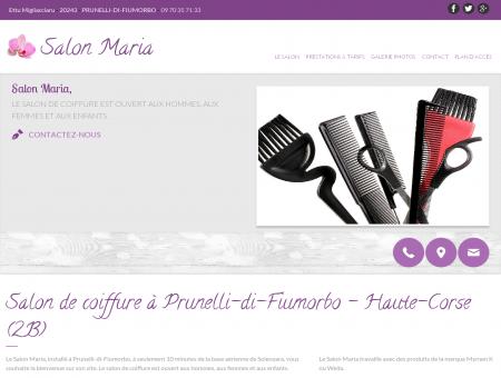 Salon de coiffure à Prunelli-di-Fiumorbo -...