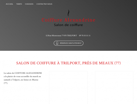 Salon de coiffure Trilport - COIFFURE...