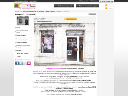 Emmanuelle coiffeuse, coiffeuse et produits...