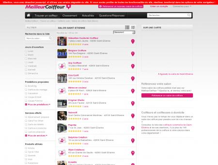 Coiffeurs Saint-Etienne - Guide des meilleurs...