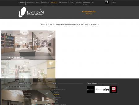 Lanvain Design - Équipement salon de coiffure