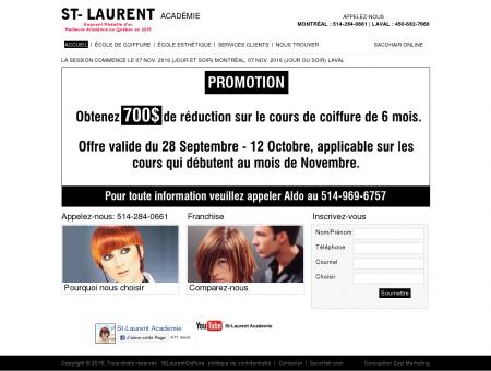 St-laurent école de coiffure à Montréal -...