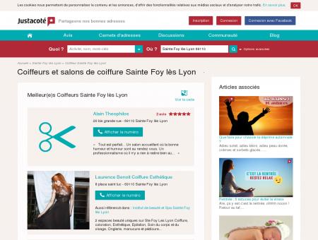 Coiffeurs et salons de coiffure Sainte Foy lès...