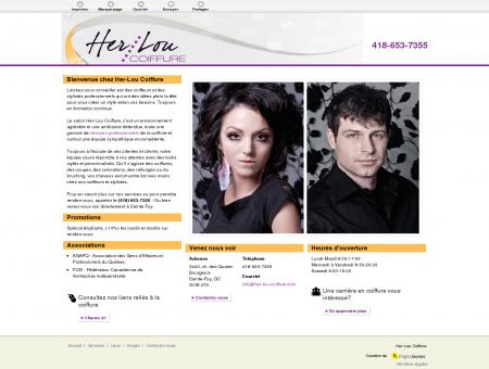 Her-Lou Coiffure | Salon de coiffure | Sainte...