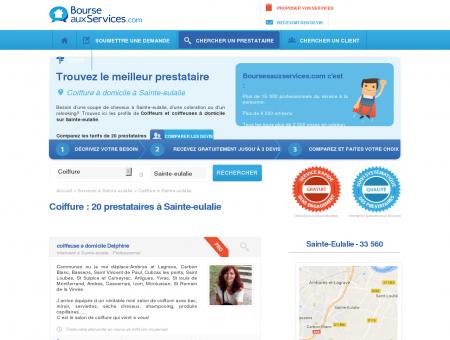 Coiffure à domicile Sainte-eulalie (33 560)