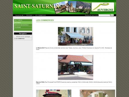 LES COMMERCES - Village de Saint Saturnin