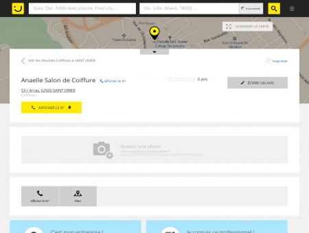 Anaelle Salon de Coiffure Saint Omer (adresse)