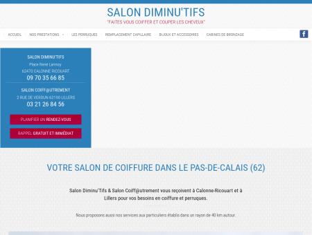 Salon de coiffure à Calonne-Ricouart (62)