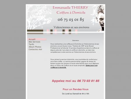 Emmanuelle THIERRY Coiffure à Domicile