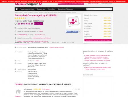 Salon de coiffure Coiff&Bio Le Salon Vannes