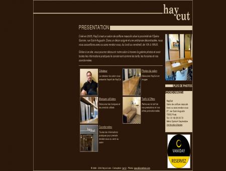 HayCut.com, Salon de coiffure masculine à Paris