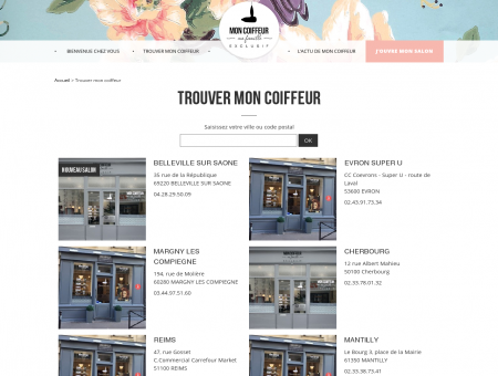 Salons coiffure Archive - Mon coiffeur, ma...