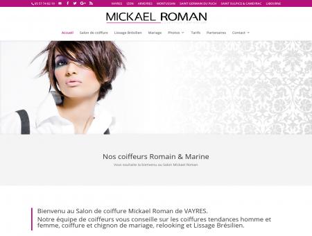 Salon de coiffure Mickael Roman VAYRES...
