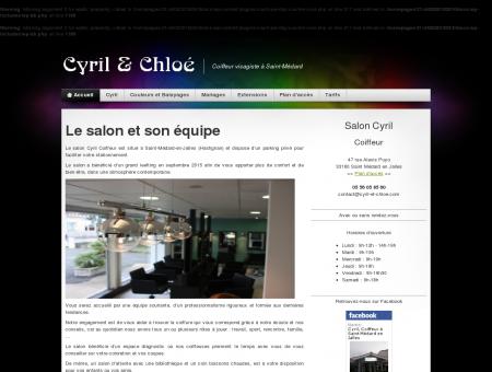 Cyril et Chloé, Salon de coiffure à Saint...