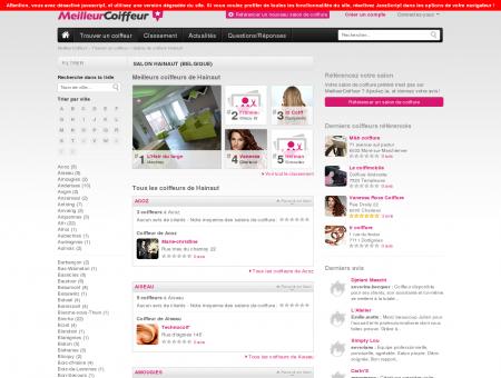 Coiffeurs Hainaut - Guide des meilleurs salons...