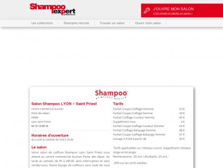 Votre salon de coiffure Shampoo à...