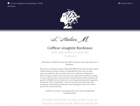 Salon de coiffure Bordeaux Chartrons - L'atelier...