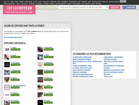 TOP10COIFFEUR.FR  Salons de coiffure dans...