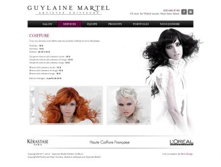 Coiffure - Guylaine Martel Artistes Coiffeurs
