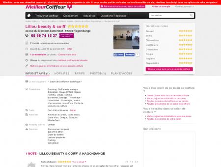 Salon de coiffure Lillou beauty & coiff'...