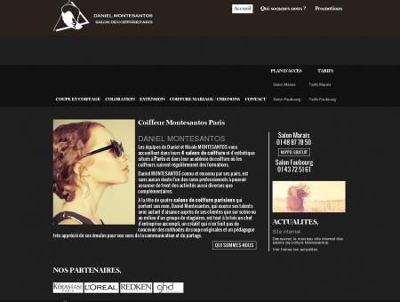 Coiffeur Montesantos Paris (75) - coiffure...