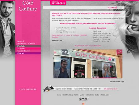 Coiffure, coiffeur à Saint-André-sur-Vieux-Jonc...