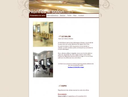 Nantes, Le Salon (de coiffure)
