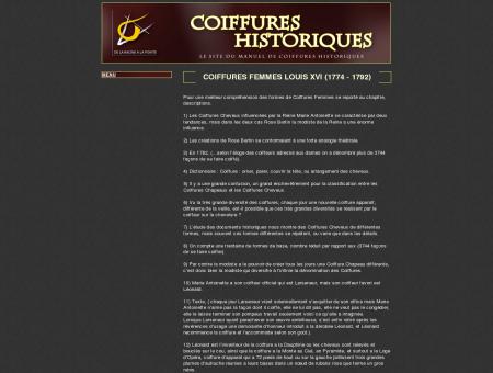 Coiffures Historiques - le site du manuel de...