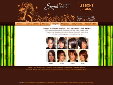 Steph'art - Visagiste - coiffeur à Wattrelos -...