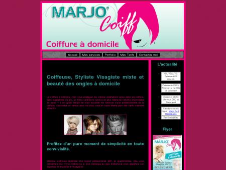 MARJO' Coiff - Votre coiffeuse à domicile et...