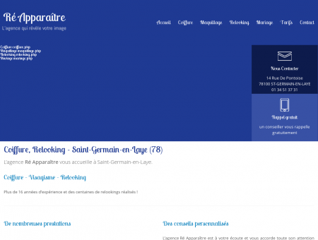 Coiffure, Relooking - Saint-Germain-en-Laye...