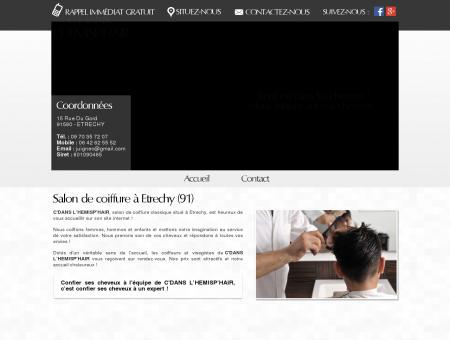 Salon de coiffure, hommes, femmes et enfants...