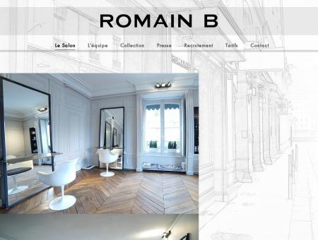 RomainB - Salon de coiffure haut de gamme -...