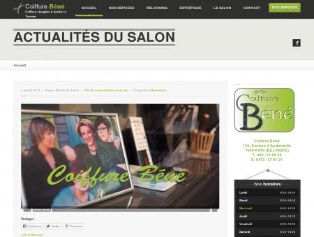 Coiffure Béné, coiffeur visagiste & barbier à...