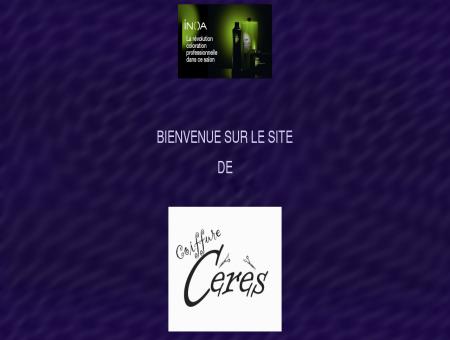 Coiffure à domicile Cérès 0496/67.83.23...