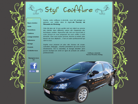 Styl' Coiffure - Coiffeuse à domicile - Tournai ...