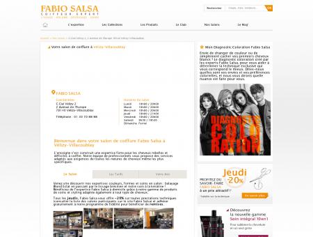 Salon de coiffure | Fabio Salsa Vélizy...