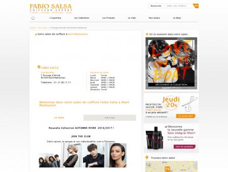Salon de coiffure | FABIO SALSA RUEIL...
