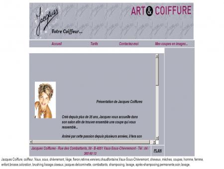 Coiffure Jacques Coiffure - Accueil - Vaux...