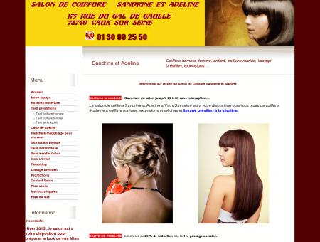 Salon coiffure Sandrine et Adeline Vaux sur Seine
