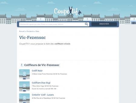 COIFFEURS VIC-FEZENSAC - SALONS DE...