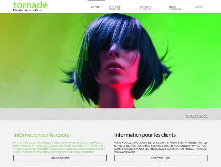 Oblic Laval | Académie de coiffure Tornade