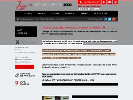 Coiffeur, coiffeur visagiste  Auxerre | MJ...