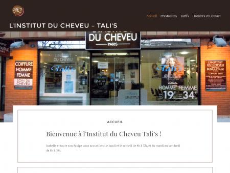 L'institut du cheveu - Tali's | Salon de coiffure à ...