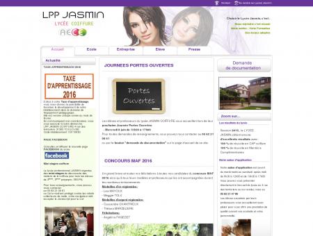 Lycee Jasmin coiffure - Accueil