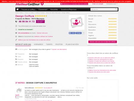 Design Coiffure Maurepas - Avis, Tarifs,...