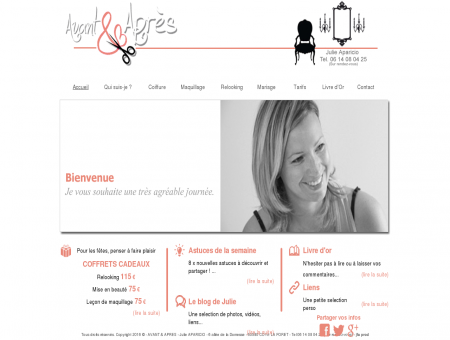 Relooking AVANT et APRES - Julie APARICIO -...