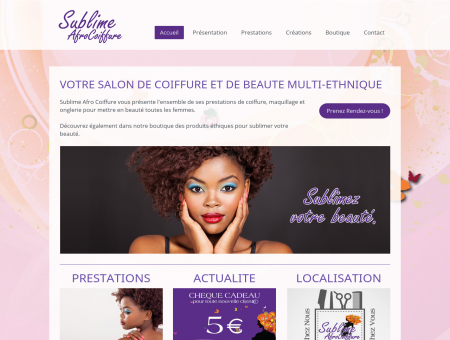 Sublime Afro Coiffure - Salon multi-éthnique à...