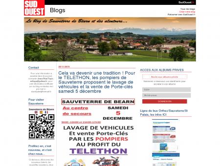 pompiers... : Sauveterre-de-Bearn