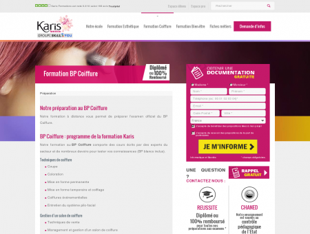 BP Coiffure - Formation Coiffeur Coiffeuse ...